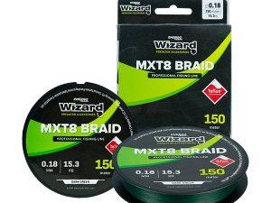 ET WIZARD MTX8 BRAID DARK GREEN